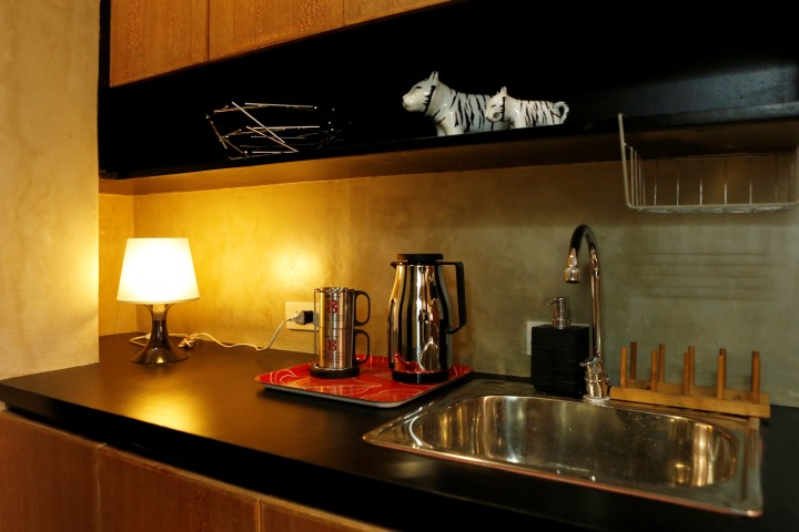 Manila Dormitory DORMUS Four to a Room Deluxe Room Pantry Area